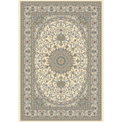 Attell Ivory Area Rug Rug Size: Rectangle 53 x 77