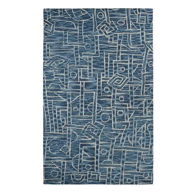 Dream Blue Area Rug Rug Size: Rectangle 33 x 53