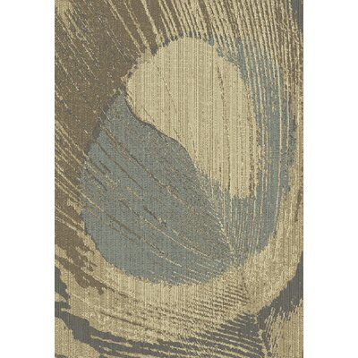 Eclipse Brown Area Rug Rug Size: Rectangle 53 x 77