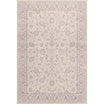 Imperial Cream Area Rug Rug Size: 2' x 3'11