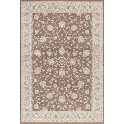 Imperial Brick Brown Area Rug Rug Size: Rectangle 53 x 77