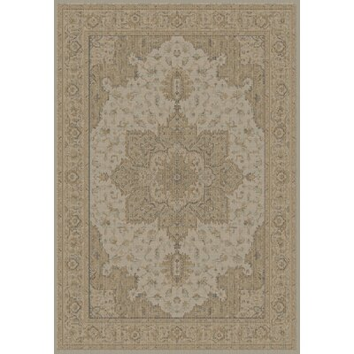 Imperial Faded Taupe Area Rug Rug Size: 67 x 96