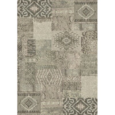 Imperial Light Gray Area Rug Rug Size: Rectangle 53 x 77