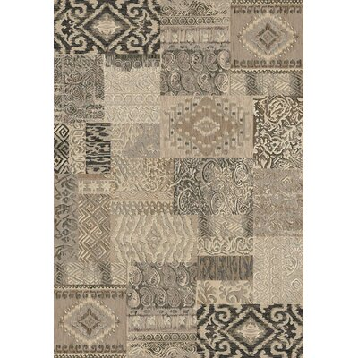 Imperial Light Brown Area Rug Rug Size: 67 x 96