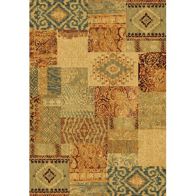 Imperial Harvest Gold Area Rug Rug Size: Rectangle 53 x 77
