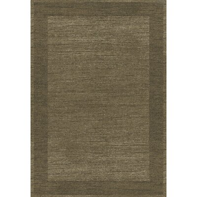 Infinity Taupe Area Rug Rug Size: 53 x 77
