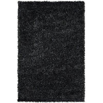 Makawee Black/White Rug Rug Size: Rectangle 5 x 8