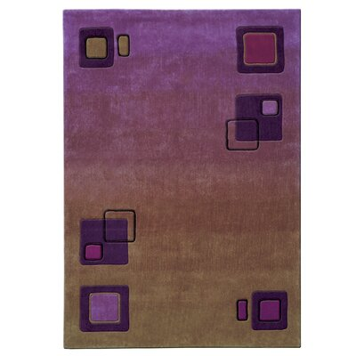 Mystique Squares Area Rug Rug Size: Rectangle 710 x 1010