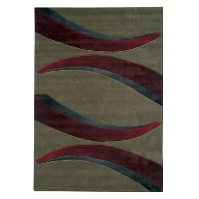 Mystique Arches Area Rug Rug Size: Rectangle 53 x 77