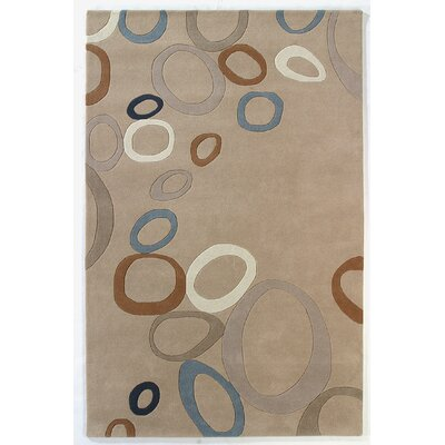 Nolita Beige Area Rug Rug Size: Rectangle 8 x 11