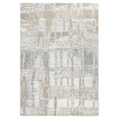 Mysterio Ivory Area Rug Rug Size: Rectangle 2 x 311