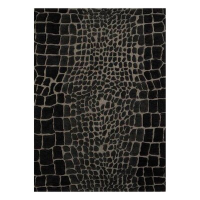 Allure Allurerary Grey Area Rug Rug Size: 5 x 8