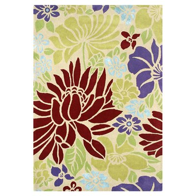 Florence Beige Rug Rug Size: Rectangle 4 x 6