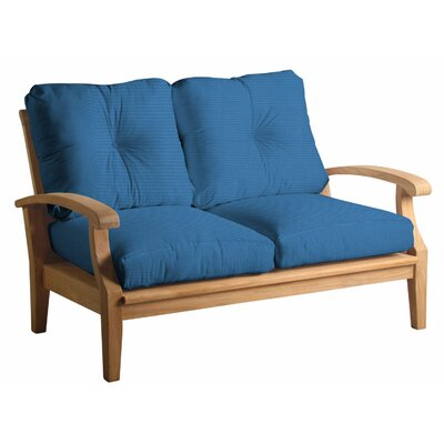 Cayman Loveseat with Cushions Fabric: Capri