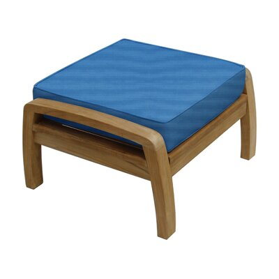 Somerset Ottoman with Cushion Fabric: Capri