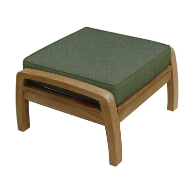 Somerset Ottoman with Cushion Fabric: Fern