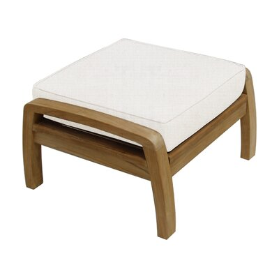 Somerset Ottoman with Cushion Fabric: Natural