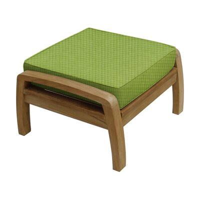 Somerset Ottoman with Cushion Fabric: Parrot
