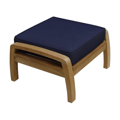 Somerset Ottoman with Cushion Fabric: Navy