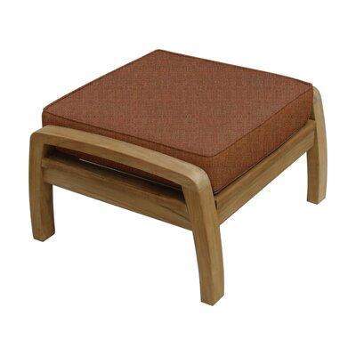Somerset Ottoman with Cushion Fabric: Chili