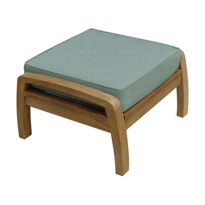 Somerset Ottoman with Cushion Fabric: Spa