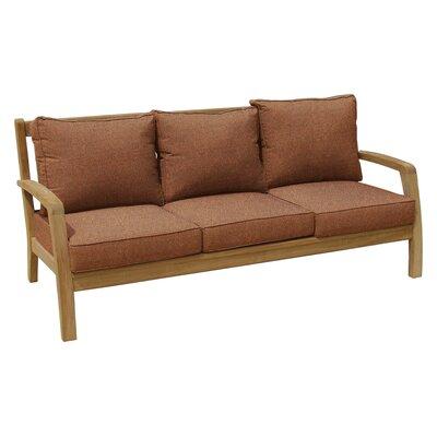 Somerset Deep Seating Sofa with Cushion Fabric: Chili