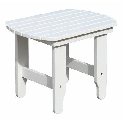 Adirondack White End Table