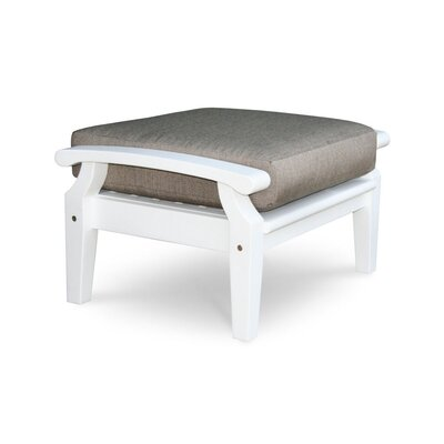 Cayman Ottoman with Cushion Fabric: Natural