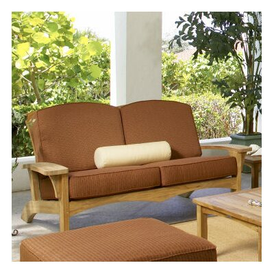 Augusta Loveseat with Cushions Fabric: Chili