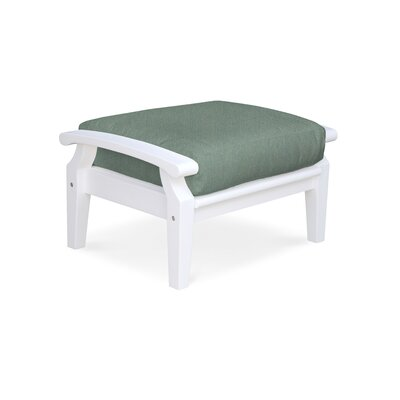 Cayman Ottoman with Cushion Fabric: Spa