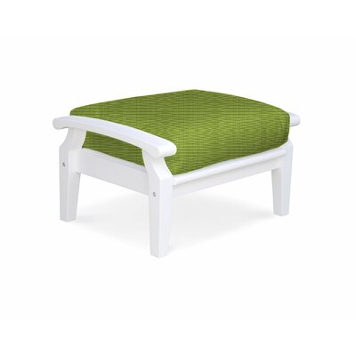 Cayman Ottoman with Cushion Fabric: Parrot