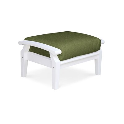 Cayman Ottoman with Cushion Fabric: Fern
