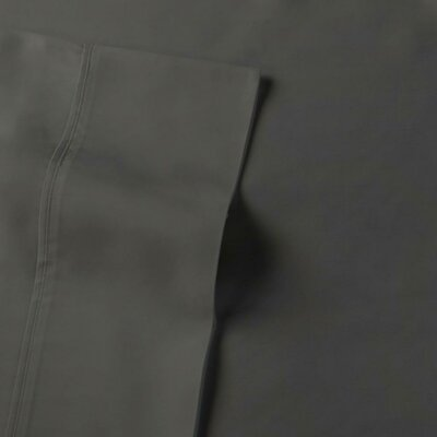 Rayon from Bamboo Sateen Premium 510 Thread Count Sheet Set Size: Full, Color: Gunmetal