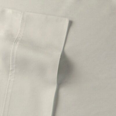 Rayon from Bamboo Sateen Premium 510 Thread Count Sheet Set Size: Queen, Color: Ivory