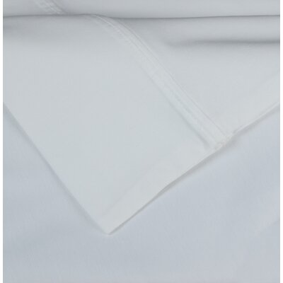 Cotton Rich Sateen 600 Thread Count Sheet Set Size: Full, Color: White