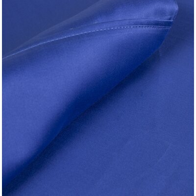 Egyptian Quality Cotton Sateen Premium 600 Plus TC Pillow Case Size: King, Color: Cobalt Blue