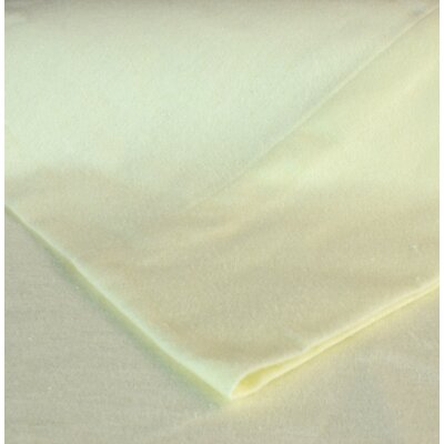 Flannel Sheet Set Color: Ivory, Size: Queen