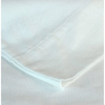 Flannel Sheet Set Size: Cal-King, Color: White