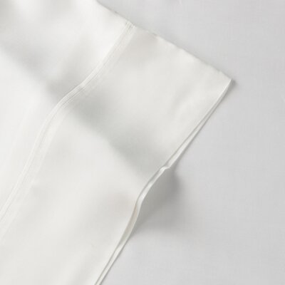 Rayon from Bamboo Pillow Case Size: King, Color: White