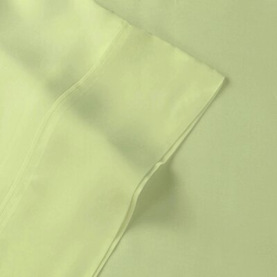 Rayon from Bamboo Pillow Case Size: Standard, Color: Sage