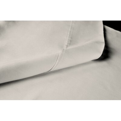 Sateen 100% Modal 300 Thread Count Sheet Set Size: Full, Color: Cream