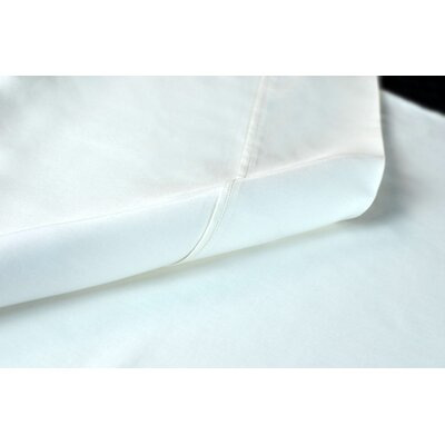 Sateen 100% Modal 300 Thread Count Sheet Set Size: Twin, Color: White