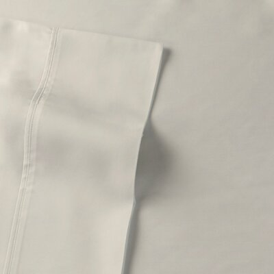 Rayon from Bamboo Sateen Premium Pillow Case Size: King, Color: Ivory