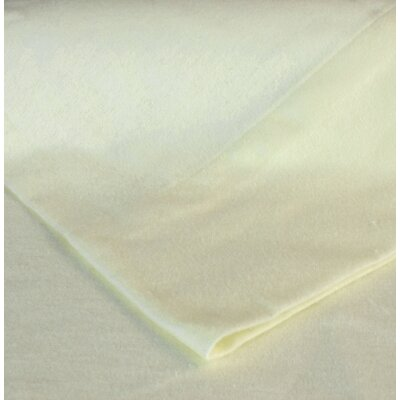 Flannel Pillow Case Size: King, Color: Ivory