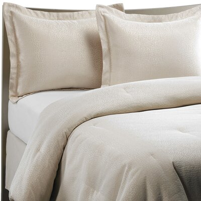 Droplets 4 Piece Comforter Set Size: King