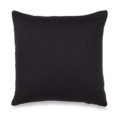 Stratosphere Throw Pillow Color: Black / Cream
