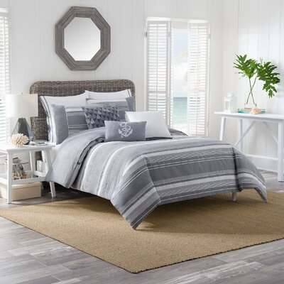 Harbor Duvet Cover Set Size: Full/Queen