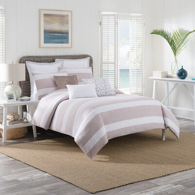 Montauk Duvet Cover Set Size: King