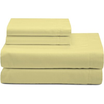 Premium Pillow Case Color: Blonde, Size: King
