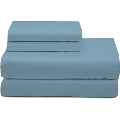 Premium Pillow Case Color: Blue, Size: King